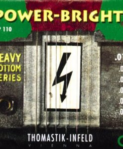 Thomastik RP110 Power-Brights Heavy Bottom Medium-Light Top Electric Guitar Strings